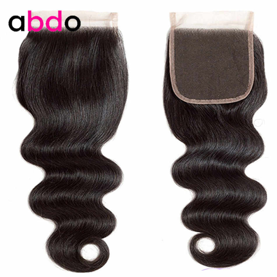 Body Wave Closure 4×4 Lace Closure 22 Inch Closures Natural Color Remy Hair100% Human Hair Closure Peruvian Frontal Closure Abdo