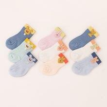 3 пары детских хлопковых утепленных колготок на осень зима носки