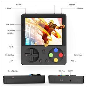 Image 4 - 333 spiele MINI Game Boy Tragbare Retro Handheld 8 Bit GameBoy Kinder Nostalgischen Spieler Video Konsole für Kind Nostalgischen