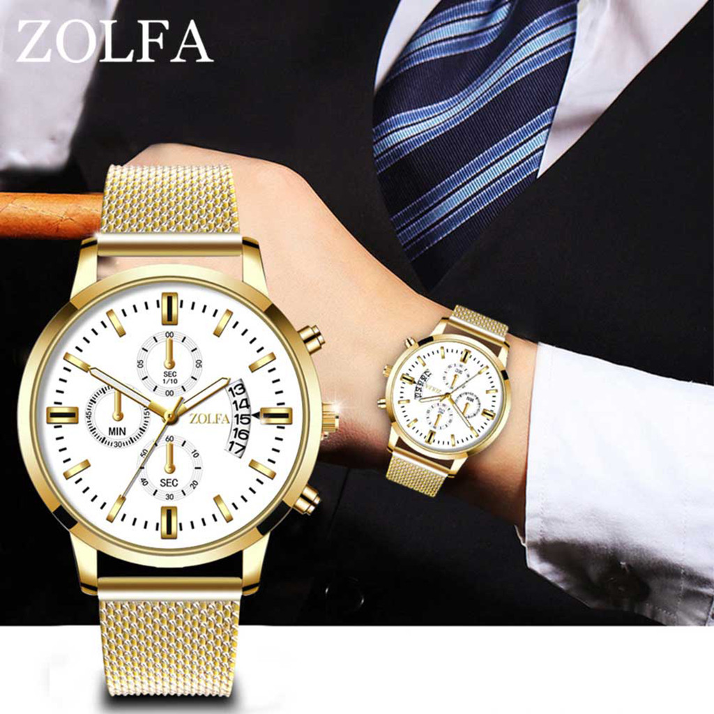 Man Watches Luxury Quartz Stainless Steel Dial Casual Bracele Watch montre homme relojes para hombre uhren herren kol saati