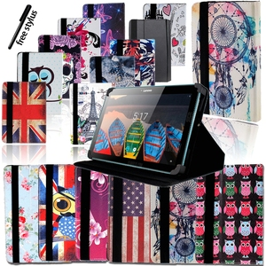Shockproof Foldable Leather Stand Cover Case for 10 Inch Lenovo Miix/IdeaPad/Yoga Tab Tablet Case+pen Tablet Accessories