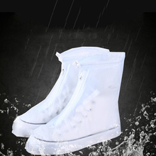 Outdoor Waterproof Rain Reusable Shoes Covers All Seasons Slip-resistant Rain Boot Overshoes Non-slip Wear-resistant Shoes Cover 1pairs pvc waterproof rain high heels shoes cover women rain boots rainproof slip resistant overshoes shoes covers