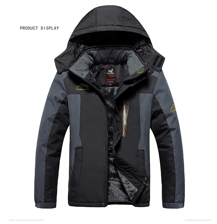 Winter Fleece Military Hiking Jackets Coat (10)