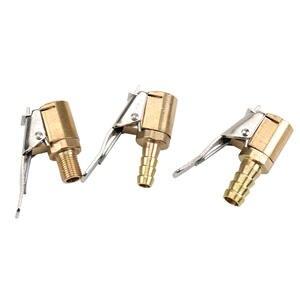 1PC Car Air Pump Thread Nozzle Adapter Car Air Pump Adapter Fast Conversion Head Clip Type Nozzle Auto General Tools