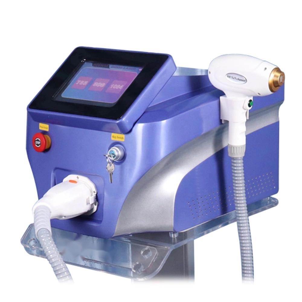2020 Newest 808nm Hair Removal Machine 755nm 808nm 1064nm 3 Wavelength 808nm Diode Laser