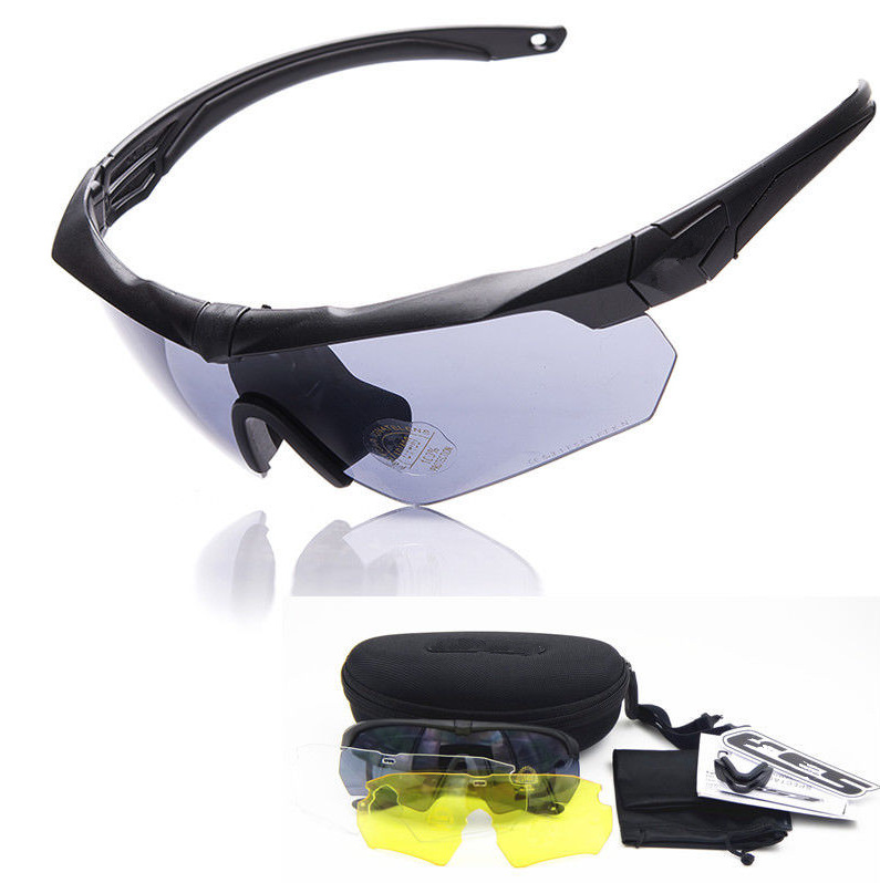 Ding Hong Military Version Of Tactical Glasses Polarized Light Outdoor Army Fans Shooting Bulletproof Eye-protection Goggles Rid