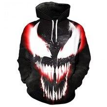 YFFUSHI 2019 Cool 3d Hoodie For Men Pullovers Sweatshirts Hero Hooded Hoodies 5XL Outwear Print Casual
