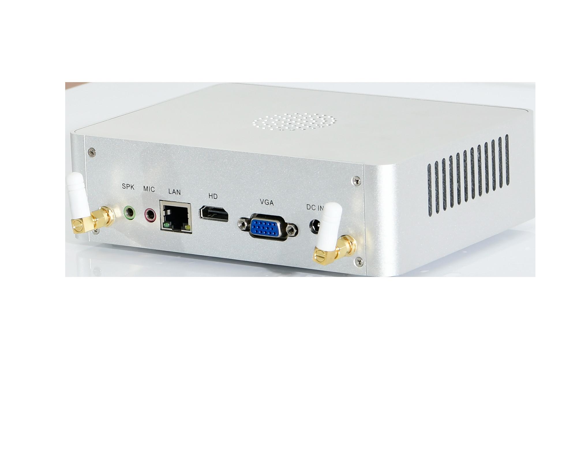 With Fan Mini PC Intel Dual Core I7 6650U I5 7267U I5 6267U Small Computer 4MB Cache VGA HDMI 4*USB3.0 Desktop Pc