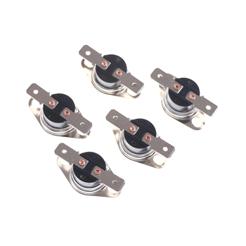 5pcs Normally Open Thermostat Temperature Thermal Control Switch On off NO KSD301 10A 250V DegC 95 Degrees C (N.O.) image