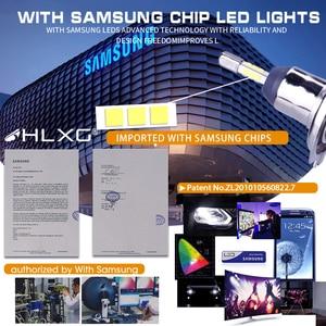 Image 2 - HLXG 2 шт 4 стороны лампочки H4 H7 светодиодный автомобильные комплект лед лампа 10000LM CSP чипы H8 H11 9006 HB4 9005 HB3 светодиодный авто светодиодные лед лампы н7 н4 led светодиодная фара