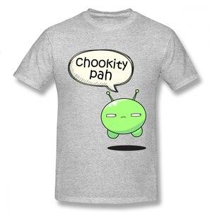 Um yona espaço final dos desenhos animados t homem chookity pah t camisa plus size casual 100% algodão mais szie moda nova chegada