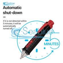 Détecteur de tension AC sans Contact VD802 12-1000V, stylo de Test, testeur, compteur de tension, courant électrique, crayon de Test avec