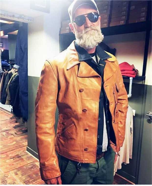 Free Shipping,cool Mens Genuine Leather Jacket.classic Cowhide Coat,quality Natural Leather Jackets.style Motor Biker Cothing