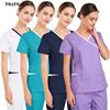 Nurse Uniform Set Surgery Uniform Dental Clinic Pet Hospital Beauty Salon Pharmacy Workwear nursing spa uniform scrubs lab coat