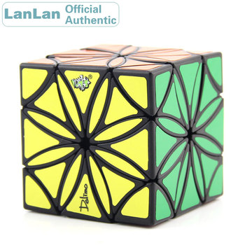 LanLan Flower Magic Cube Petal Cubo Magico Professional Neo Speed Puzzle Antistress Educational Toys For Children shengshou brand 5x5x5 magic cube professional speed magic cube children educational toys magico cubo rubic cube