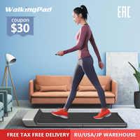 WalkingPad A1 cinta de correr plegable eléctrica inteligente trotar espacio máquina de andar aeróbica equipo para entrenamiento deportivo para el hogar Xiaomi el sistema