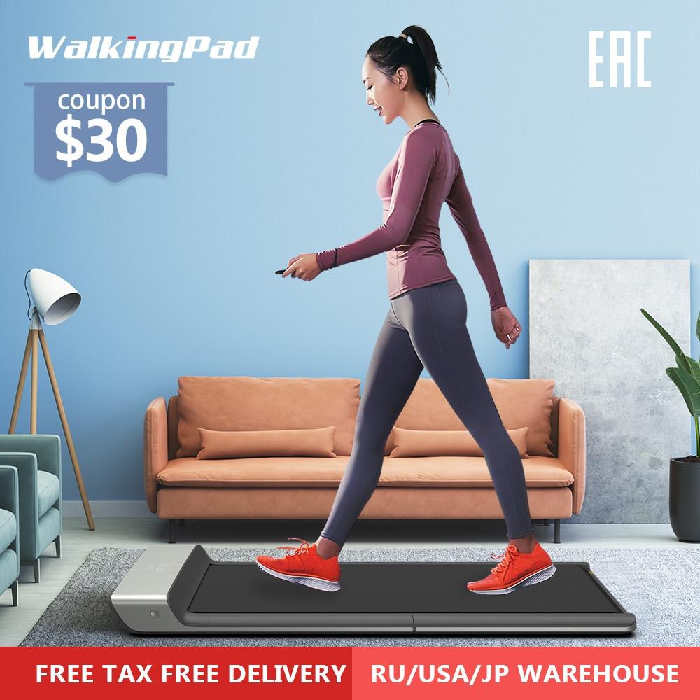 Walkingpad a1 inteligente esteira elétrica dobrável jog espaço caminhada máquina aeróbica equipamentos de fitness esporte para casa xiaomi ecossistema