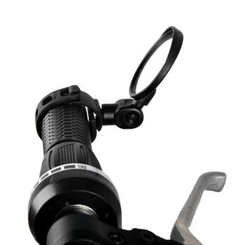 Przenośna uniwersalna kierownica regulowane rowerowe lusterko wsteczne szerokokątne wypukłe lustro rowerowe akcesoria rowerowe MTB tanie i dobre opinie CN (pochodzenie) OD0538-00B