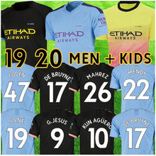 FODEN MAHREZ 19 20 SHIRT soccer jerseys 2019 2020 city De Bruyne KUN AGUERO BERNARDO Camiseta MENDY SANE Football shirts(China)