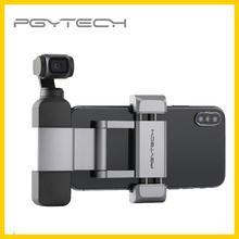 PGYTECH dla DJI Osmo kieszeń kieszeń 2 uchwyt telefonu Plus dla DJI OSMO kieszeń kieszeń 2 kardana ręczna akcesoria tanie tanio CARBIG CN (pochodzenie) PGYTECH Phone Holder Plus Osmo Pocket Pocket 2