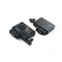 Grote Vierkante UV Demper Voor Epson L805 R330 R290 T50 L800 1390 UV printer UV demper met pijplijn voor inkt filtering-in Printer Onderdelen van Computer & Kantoor op