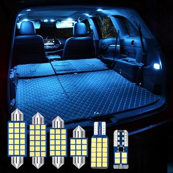 For Honda CR-V CRV 2013 2014 2015 2016 2017 4pcs  LED Bulbs Error Free Car Interior lights Kit Dome Reading Lamps Trunk Lights free shipping iphcar waterproof dual color special outside led daytime running lights for 2013 cr v