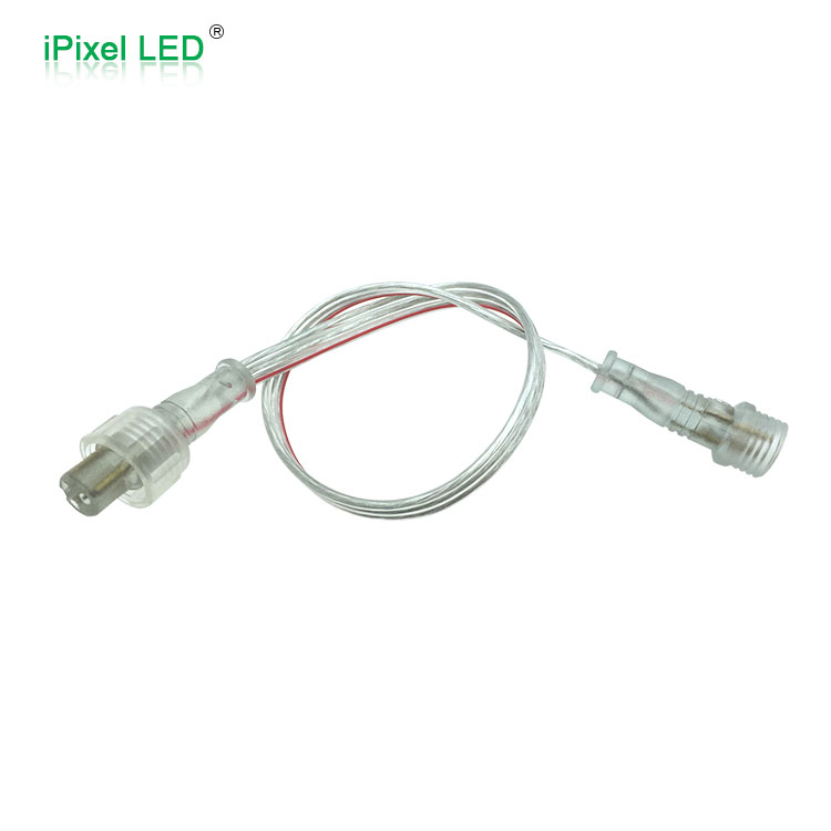 3pin clear extension cable for RGB/RGBW led strip&pixel