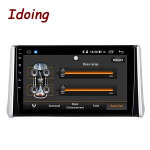 "Image 3 - Idoing 10.2""4G+64G 2.5D Octa Core DSP Car Radio Android Multimedia Player For Toyota RAV 4 2019 GPS Navigation Autoradio AHD 4G"