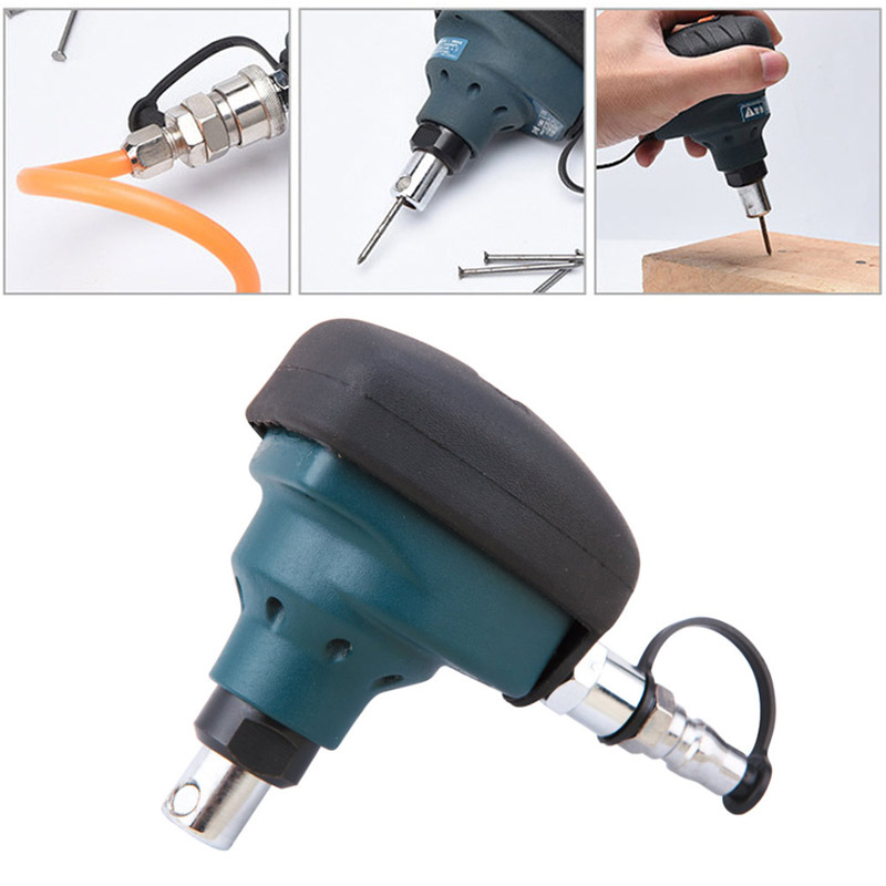 Air Gun Air Pneumatic Mini Tool Magnetic Nailer Nail Hammer Impact Hammer Hammer Automatic Nail Steel Palm Woodworking