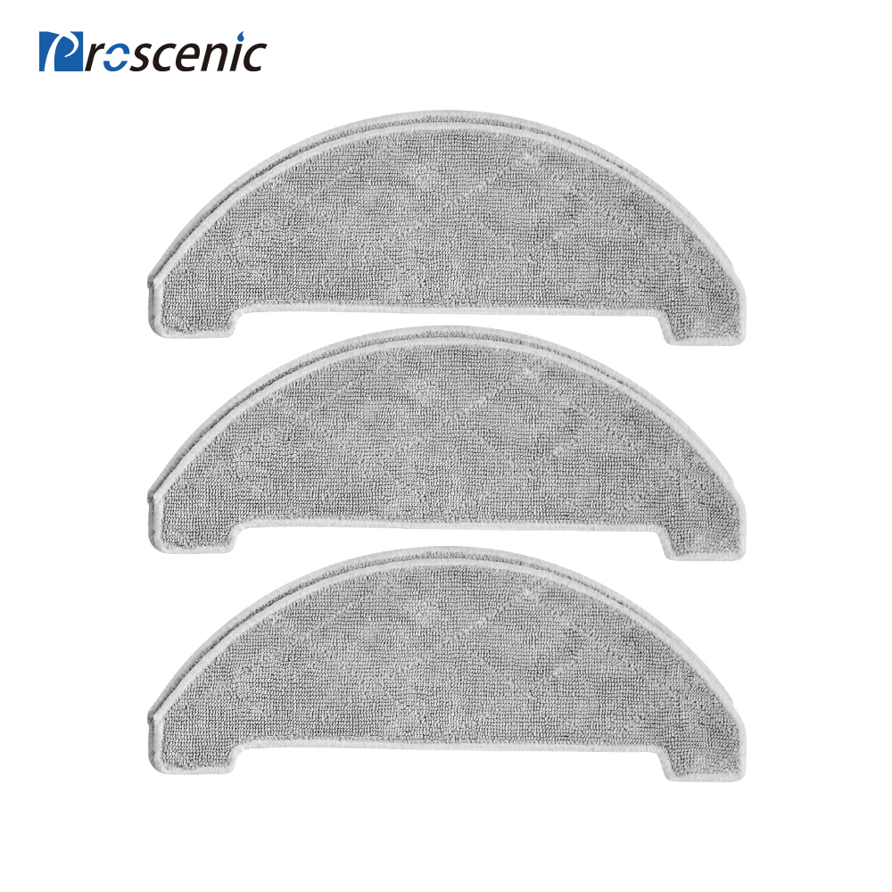 10x Side Brush 5x Filter Replace For Proscenic M7 Pro Robot Vacuum Cleaner Kits