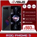 Глобальная прошивка Asus ROG Phone 5/Pro/конечной 5G игровой телефон 144 Гц Дисплей Snapdragon 888 6000 мАч быстрой зарядки 65 Вт ROG5 смартфон