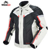 GHOST RACING Motorcycle Jacket Motorbike Riding Jacket Windproof Armor Protection Gear Pant Armor Breathable With Neck Protector