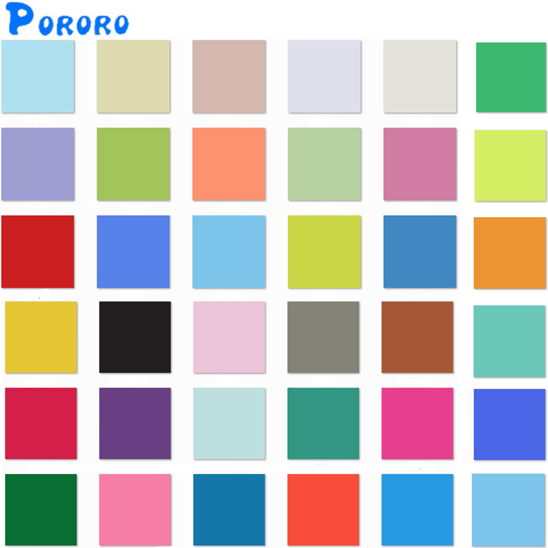 Plain Color Waterproof PUL Reusable Cloth Diaper Material Solid Color TPU Laminated Fabric DIY Diapers Wet Bags Nappy Fabric
