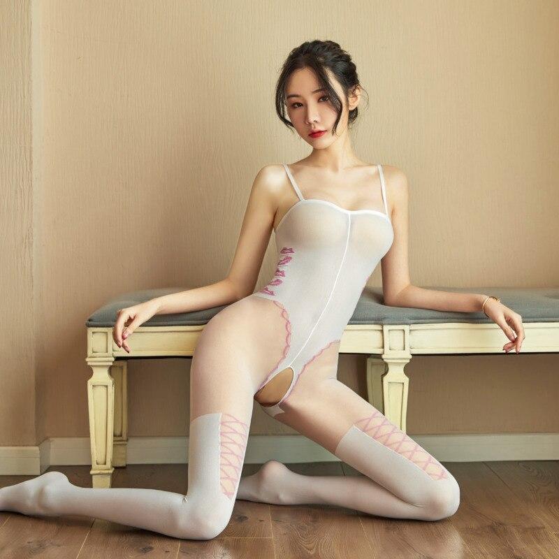 Новое поступление, женское сексуальное нижнее белье, открытая промежность, полый пояс, колготки, прозрачные эротические колготки, чулки