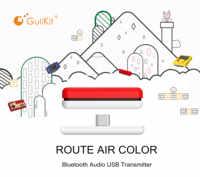GuliKit NS07 ruta aire Color transmisor de Audio inalámbrico Bluetooth USB C Transceptor adaptador para Nintendo interruptor/Lite/PS4