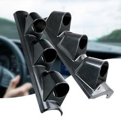 52mm 3 otwór uniwersalny Dash Gauge filar Pod klastra Auto miernik samochodowy licznik samochodowy uchwyt do montażu klastra lewy/prawy napęd ręczny