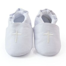 Baby Boy Girl First Walkers Church Soft Sole Leather Shoes C