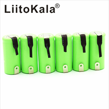 LiitoKala 2/3AA Ni MH Battery AA 1.2V 600mAh Rechargeable Battery With Pins