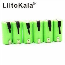 LiitoKala 2/3AA Ni MH batterie AA 1.2V 600mAh batterie Rechargeable avec broches