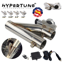 Exhaust-Downpipe Cutout Universal Electric Dual-Valve Stainless-Steel-304 Remote HT-EMP86/87