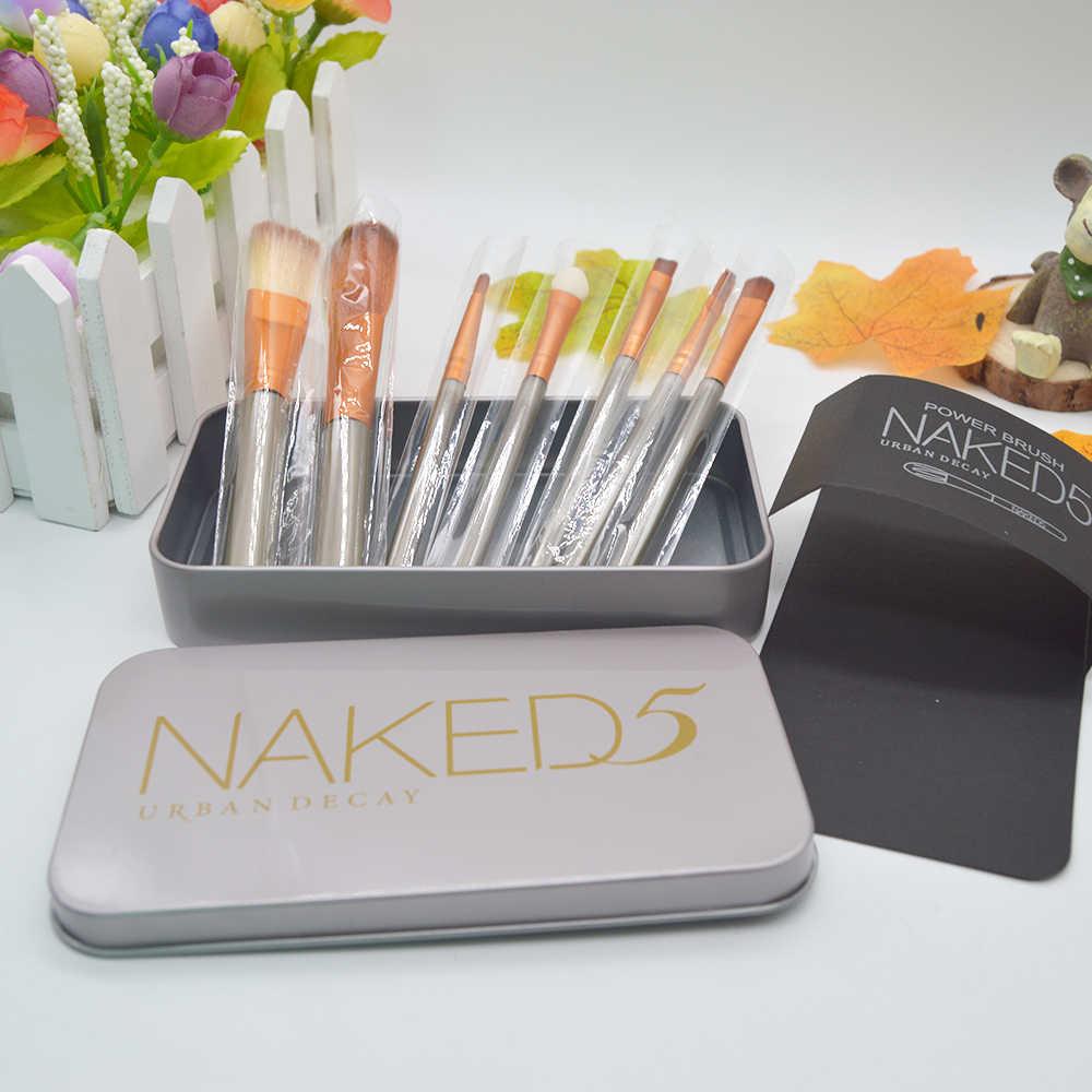 7 sztuk zestaw pędzle do makijażu moda oczy pędzel do makijażu z pięknym podróżna kosmetyczka na produkty do makijażu Box HIAISB