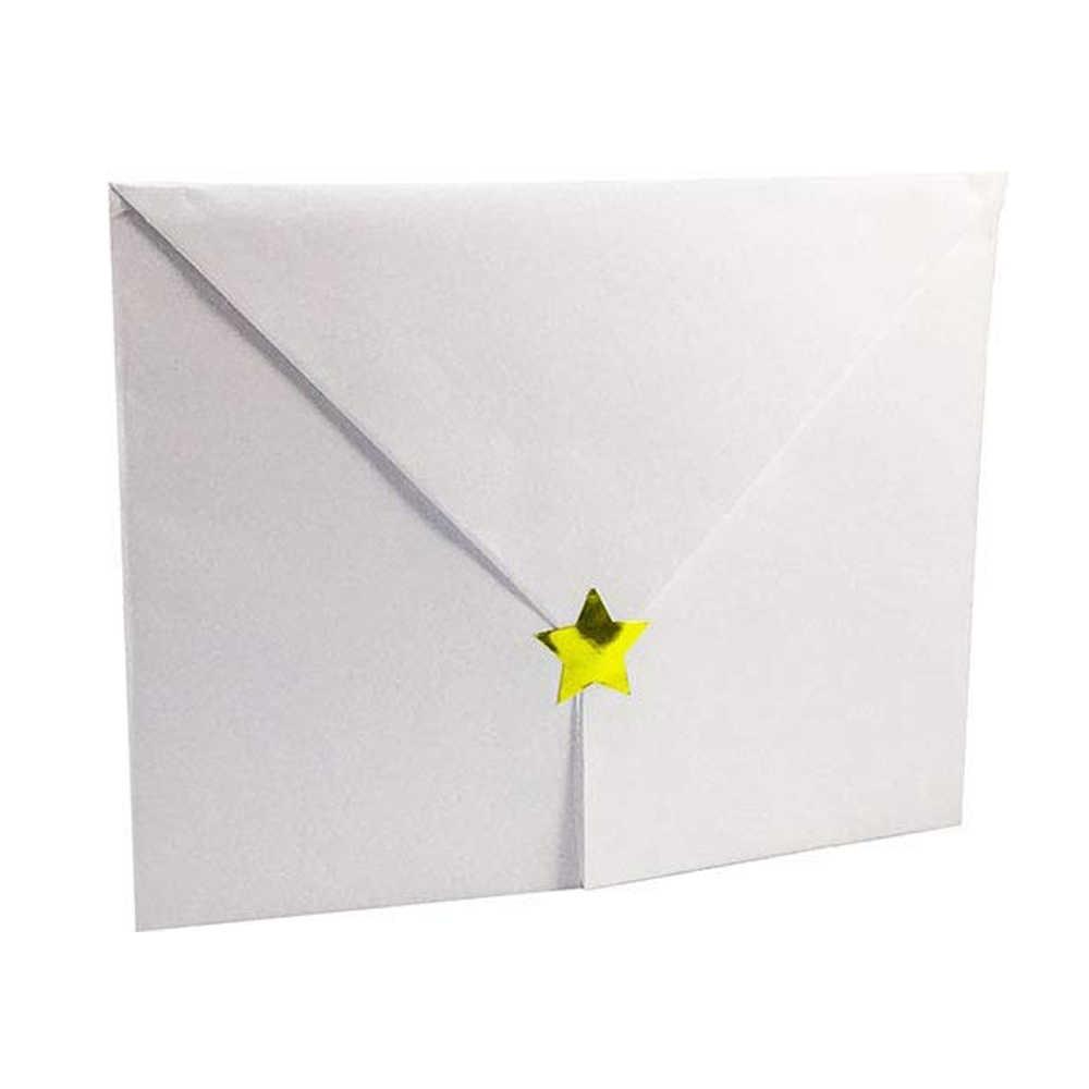 الذهب احباط ملصق تنقش ختم فارغة شهادة المنزل عطلة الديكور الذاتي لاصق جدار دعوة اوراق الملاحظات 500 قطعة