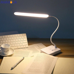Flexo Table Lamps for living room 5v Led Desk Lamps for Studying Touch Dimming USB Lamp Night Reading Lamp with USB Port Liseuse