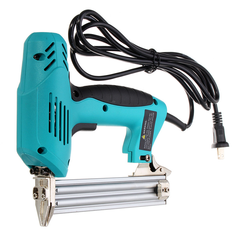 Image 3 - 220V 1800W Electric Staple F30 Single Straight Nail Gun 10 30mm Special Use 30/min Woodworking Tool Straight Gas Nail Gun-in Nail Guns from Tools on