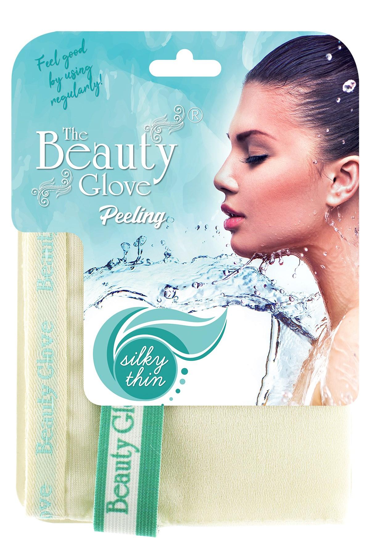 The Beauty Glove 100 Floss Exfoliating Bath Thin Mitt For Sensitive Skin