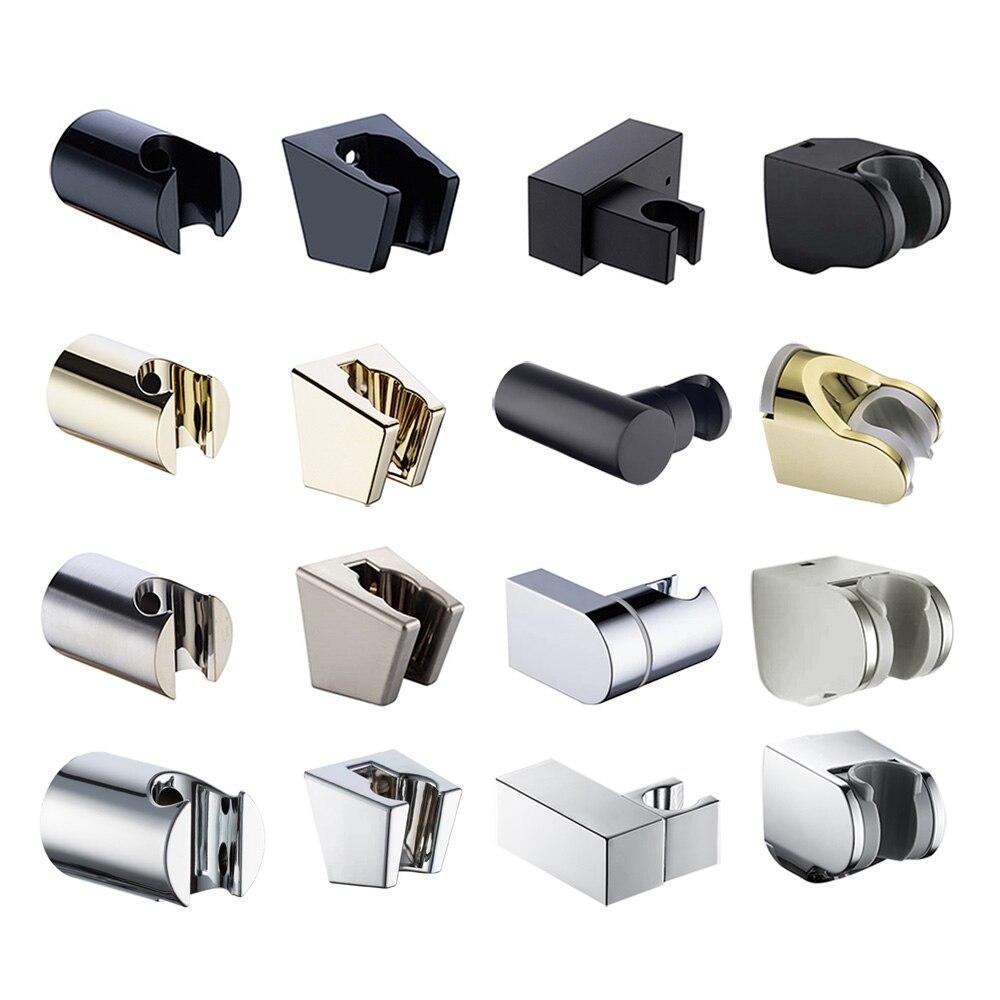 ABS Регулируемый ручной держатель для душа, настенный кронштейн, хромированный/Матовый никель/золотой/матовый черный