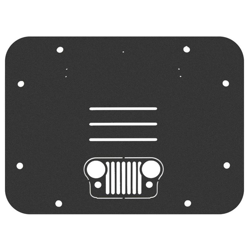 Запасная шиномонтажная опора для удаления наполнителя Трамп штамп крышка багажника для 2007-2017 Jeep JK Wrangler & Unlimited