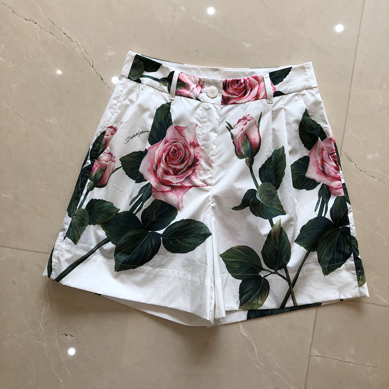 Women <font><b>Shorts</b></font> Summer <font><b>Sexy</b></font> <font><b>Shorts</b></font> Flower Print High Waist <font><b>Short</b></font> Pants Casual <font><b>Shorts</b></font> Female image