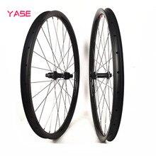 ultralight mtb wheelset 29er 28x22mm tubeless titanium alloy spokes DT 180S increase 110×15 148×12 mountain bike disc brake wheels