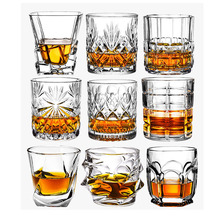 Fashion Whiskey Glasses, Scotch Whisky, Bourbon, Cocktails, RUM, Durable Whiskey Glasses
